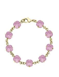 5th & Luxe Rose Water Opal Swarovski Crystal Bracelet