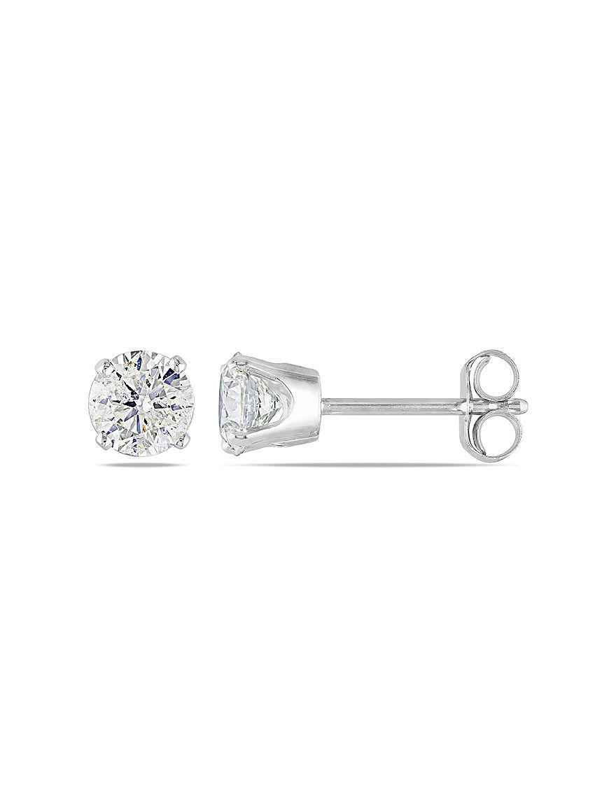 Concerto Diamonds  Studs Earrings Fine Jewelry