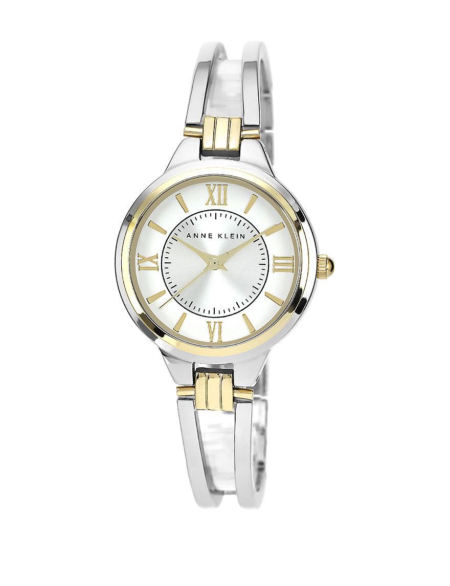 Anne Klein Silver Fashion Watches
