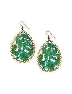 Wishful Park Green Earrings Fashion Jewelry