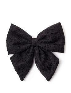 Wishful Park Black Large Lace Hair Clip