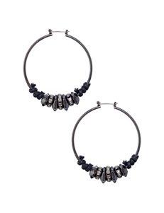 Hannah  Hoops Earrings Fashion Jewelry