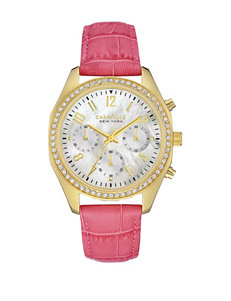 Caravelle Pink Fashion Watches