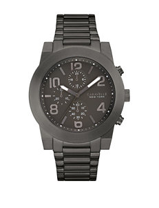 Caravelle Black Fashion Watches