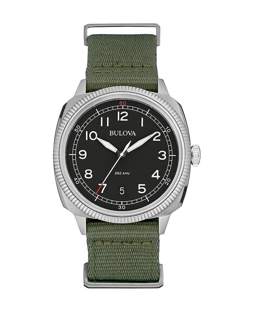 Bulova Green Fashion Watches Sport Watches