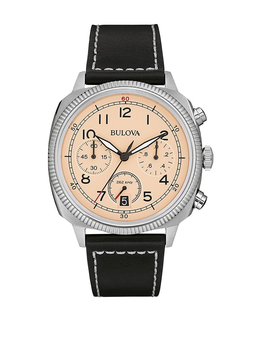 Bulova Black Fashion Watches Sport Watches