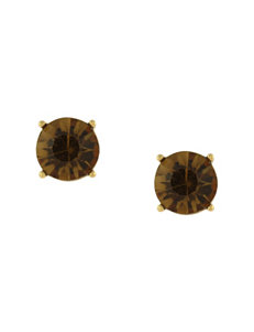 Jessica Simpson Gold Studs Earrings Fashion Jewelry