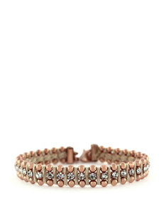 Jessica Simpson Crystal Threaded Bracelet