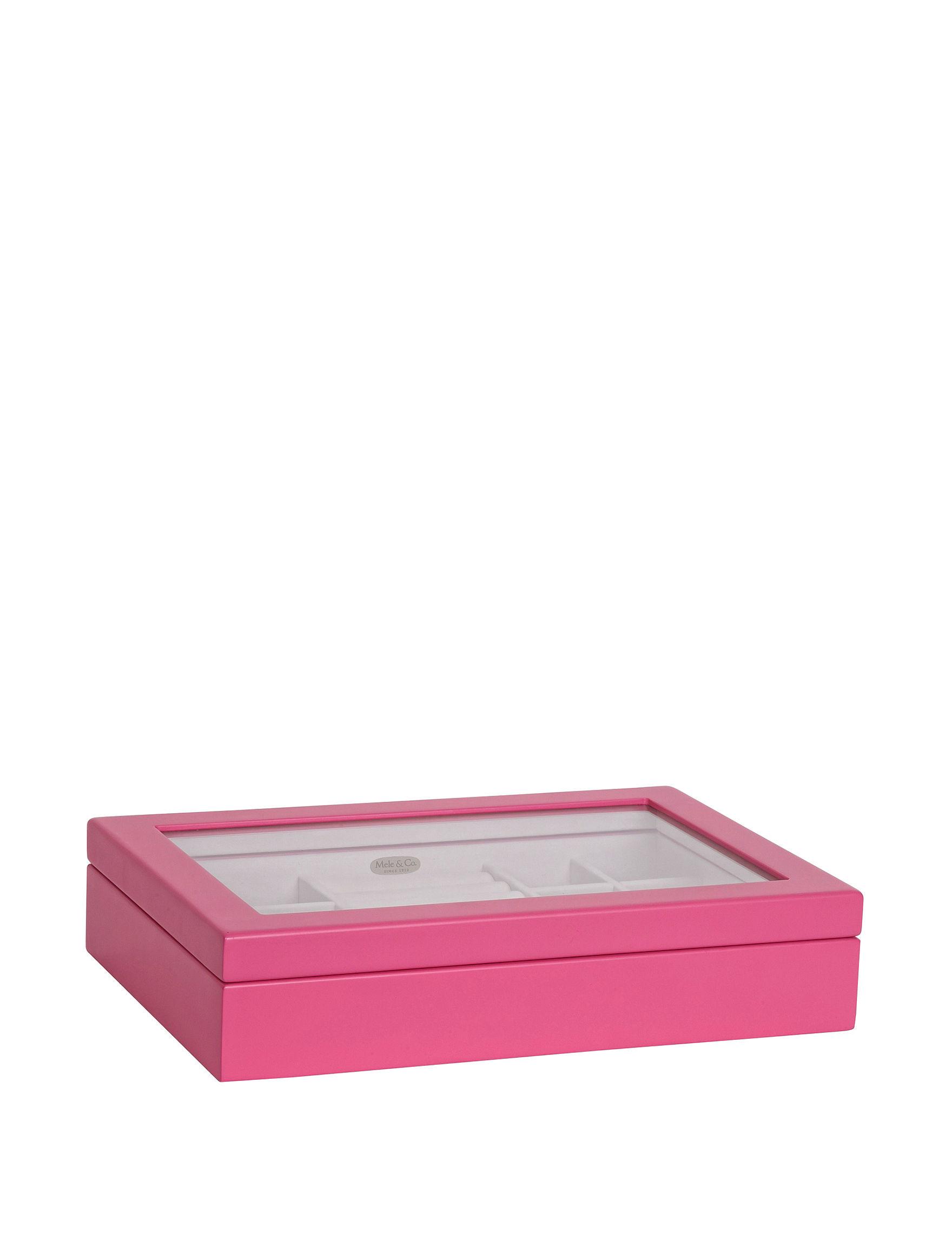 Mele & Co. Pink Jewelry Storage & Organization