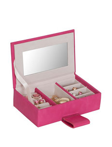 Mele & Co. Magenta Jewelry Storage & Organization