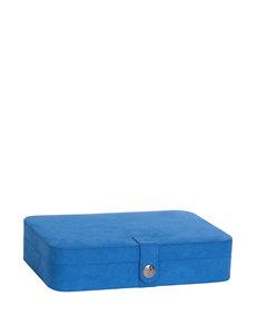 Mele & Co. Celia Plush Fabric Jewelry Box