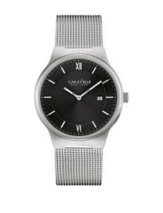 Caravelle New York by Bulova Men's Thin Mesh Watch