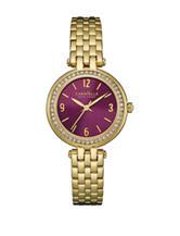 Caravelle New York by Bulova Women's Gold-Tone Bracelet Link Watch