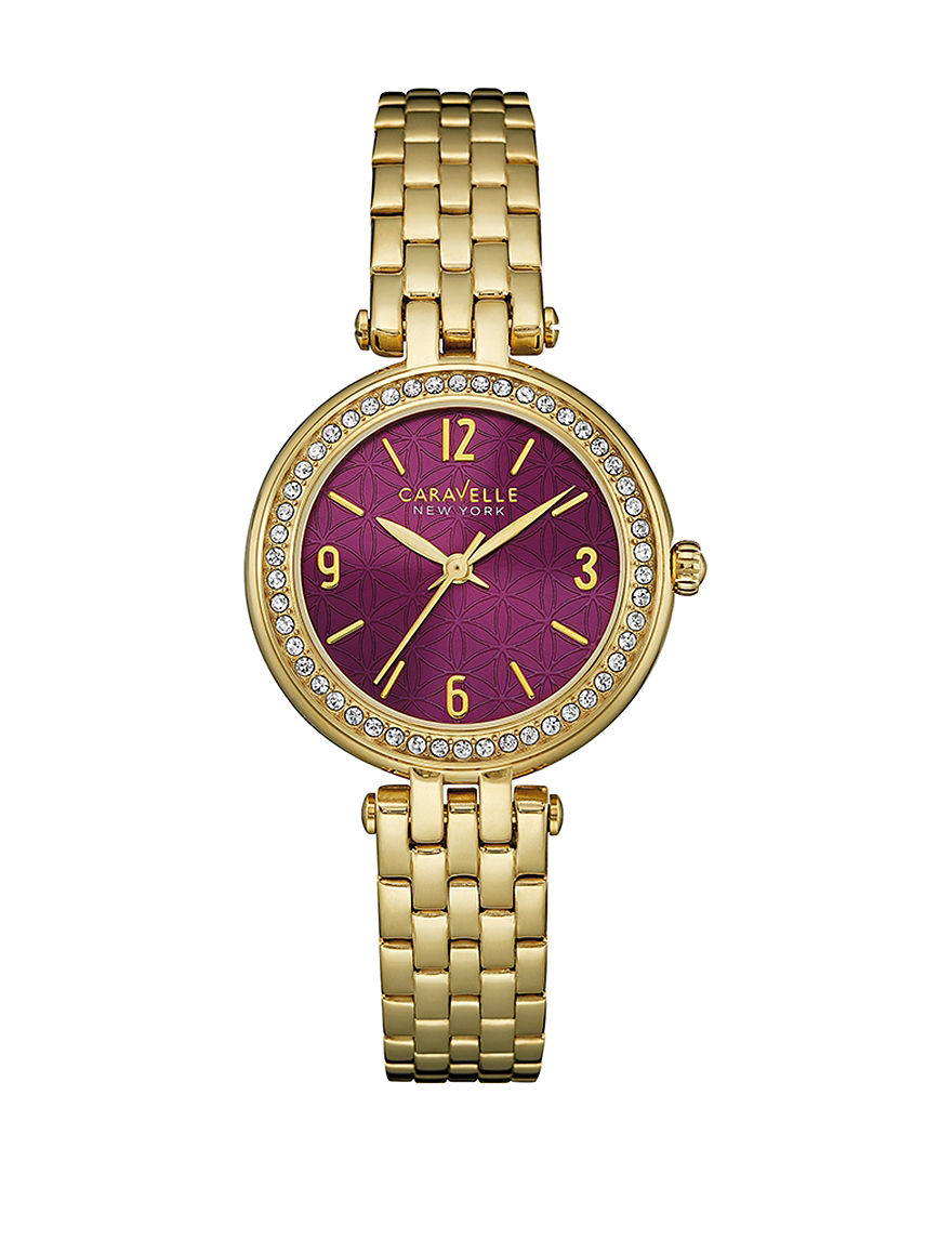 Caravelle Gold Fashion Watches