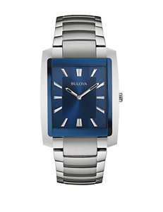 Bulova Silver Fashion Watches Bracelets