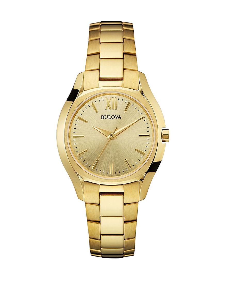 Bulova Gold Fashion Watches