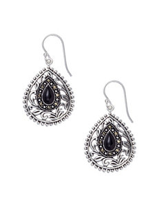 Marsala SIlver Earrings Fine Jewelry