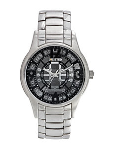 Unlisted Men's Silver Link Band Watch