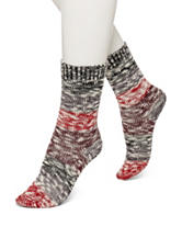 Hue® Color Block Boot Socks
