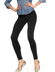 Hue® Solid Color Cotton Leggings