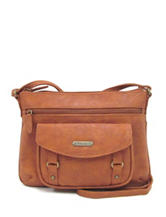 Koltov Vera Ridge Crossbody Handbag