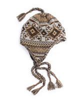 Muk Luks Safari Geometric Tassel Helmet