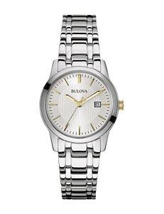 Bulova Ladies Stainless Steel Watch