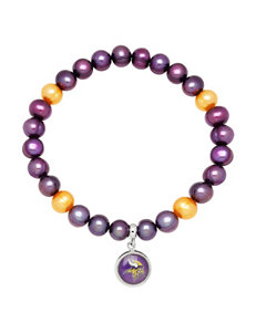 Aurafin Oro America Purple / Yellow Bracelets NFL
