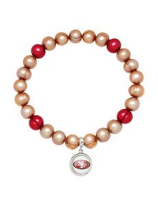 Aurafin Oro America Blue/ Red Bracelets Fashion Jewelry Fine Jewelry NFL