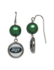Aurafin Oro America Green Drops Earrings NFL