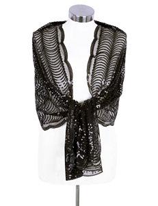 Cejon Black Scarves & Wraps