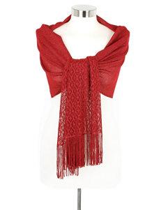 Cejon Red Scarves & Wraps