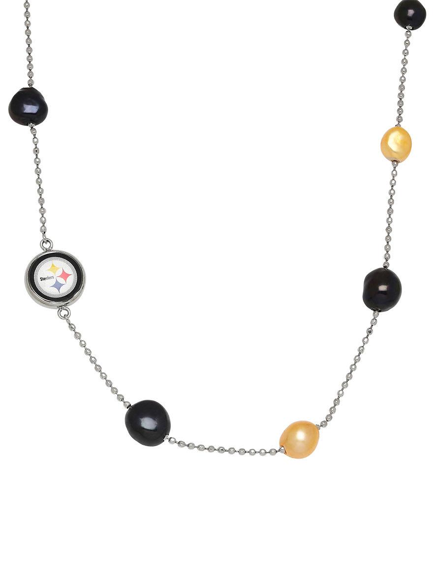 Aurafin Oro America Black Necklaces & Pendants Fine Jewelry NFL