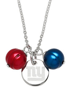 New York Giants Double Pearl Necklace