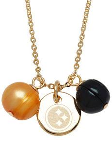 Aurafin Oro America Black / Yellow Necklaces & Pendants Fine Jewelry NFL