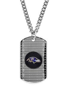 Aurafin Oro America Black/ Purple Necklaces & Pendants Fine Jewelry NFL