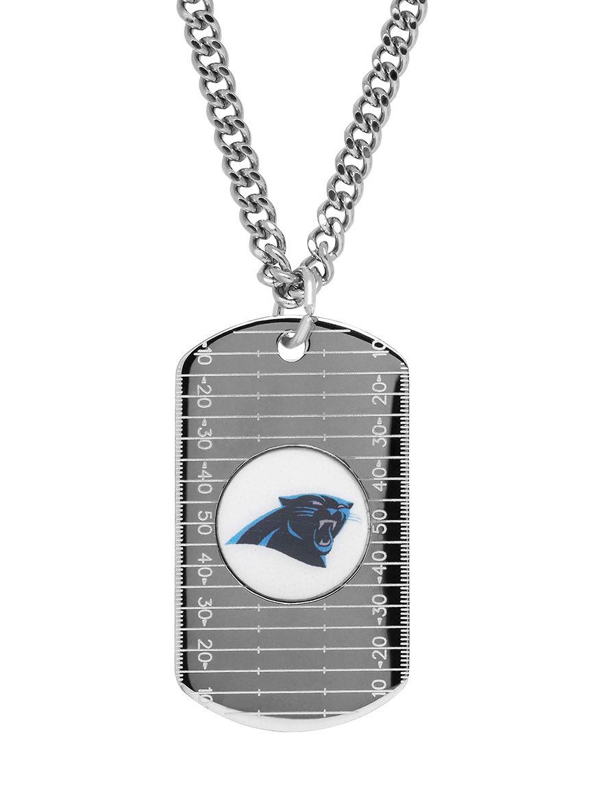 Aurafin Oro America White / Blue Necklaces & Pendants Fashion Jewelry Fine Jewelry NFL