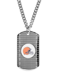 Cleveland Browns Sterling Silver Dog Tags