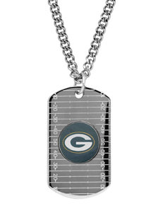 Green Bay Packers Sterling Silver Dog Tags