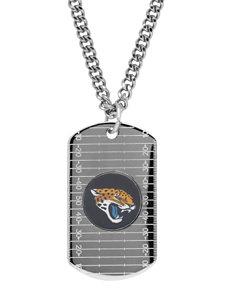 Jacksonville Jaguars Sterling Silver Dog Tags