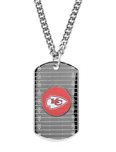 Aurafin Oro America Red / White Necklaces & Pendants Fashion Jewelry Fine Jewelry NFL