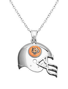 Aurafin Oro America Orange / Black Necklaces & Pendants Fashion Jewelry Fine Jewelry NFL