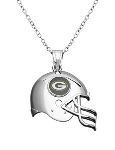 Aurafin Oro America Green Necklaces & Pendants Fashion Jewelry Fine Jewelry NFL