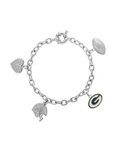 Aurafin Oro America Green Bracelets Charms Fine Jewelry