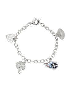 Aurafin Oro America Blue Bracelets Charms Fine Jewelry NFL