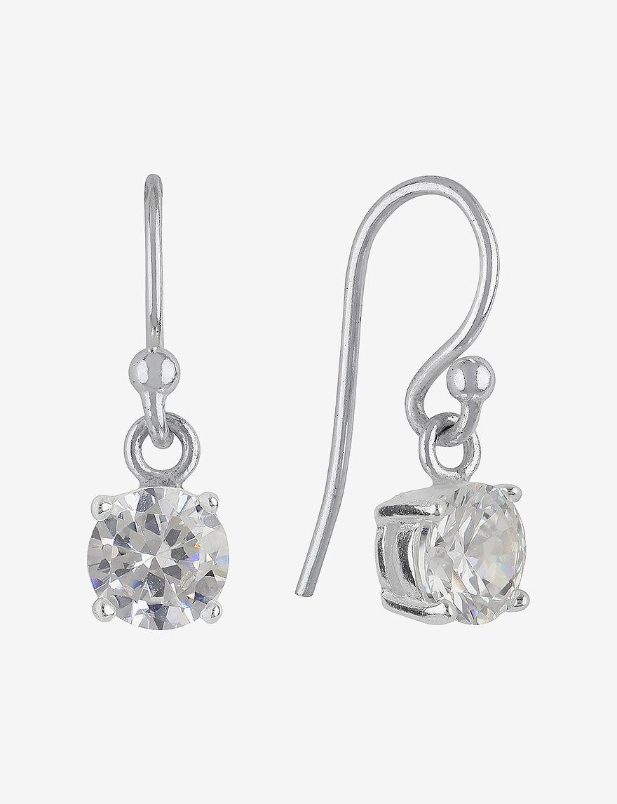 Sunstone  Drops Earrings Fine Jewelry