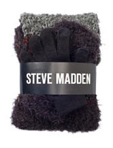 Steve Madden 2-pc. Loop Scarf & Glove Set