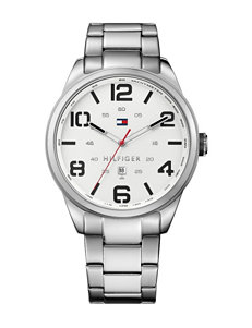 Tommy Hilfiger Silver Sport Watches