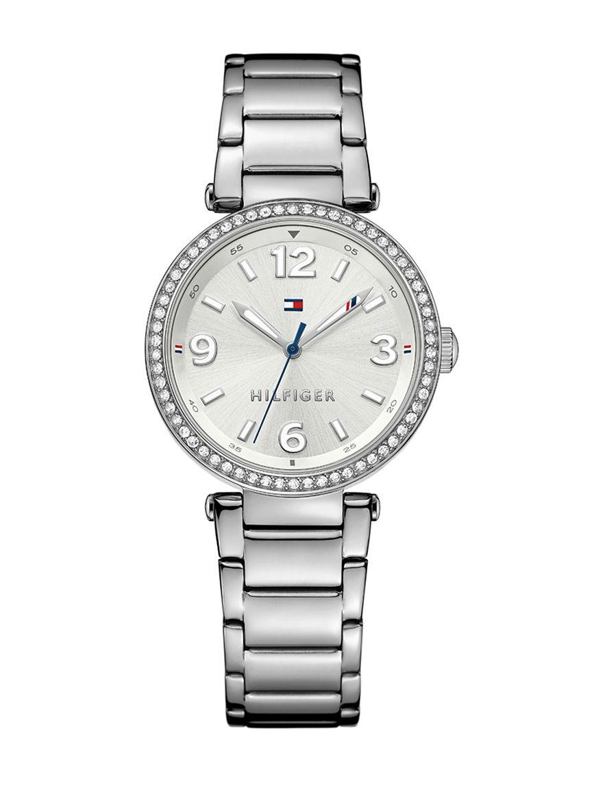 Tommy Hilfiger Silver Fashion Watches