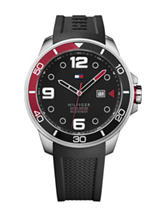 Tommy Hilfiger Keith Rubber Strap Watch